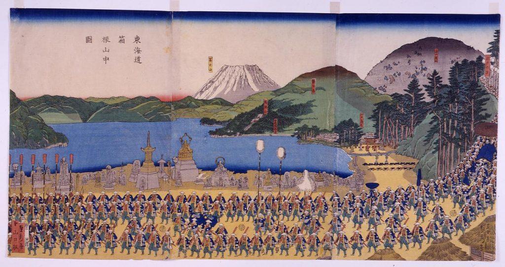 作品画像:東海道箱根山中図