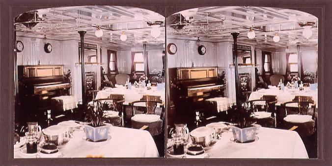 作品画像:南洋丸の食堂(No.56)