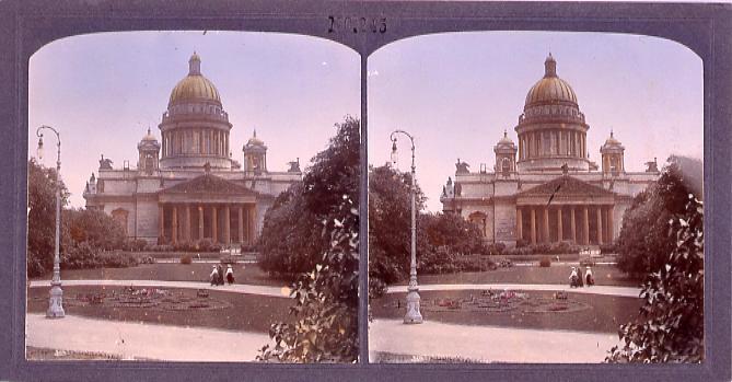 作品画像:ロシアのイサック寺院(No.245)
