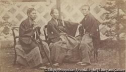 作品画像:3人の武士