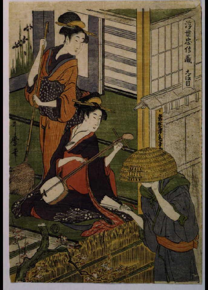 作品画像:浮世忠信蔵 九段目