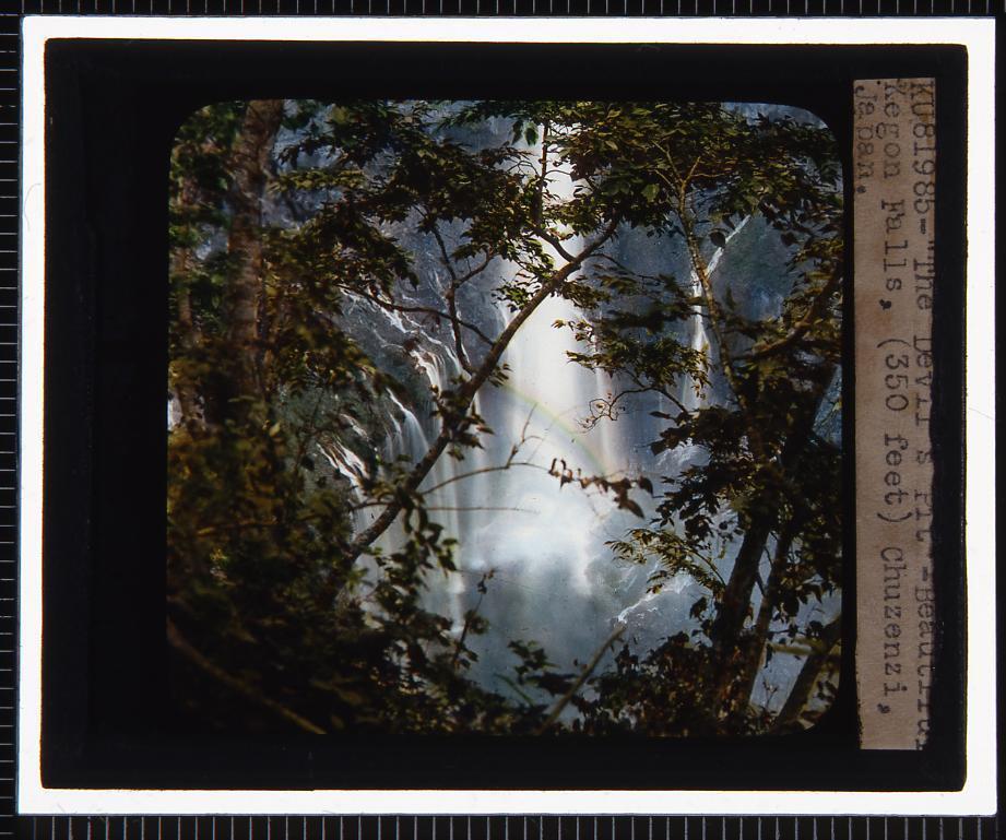 作品画像:日光 中禅寺湖(幻燈原板)