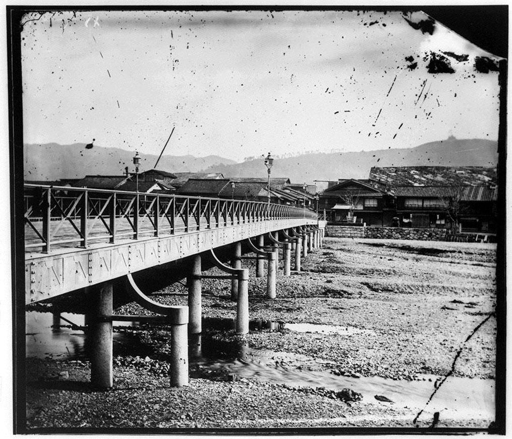 作品画像:鉄橋