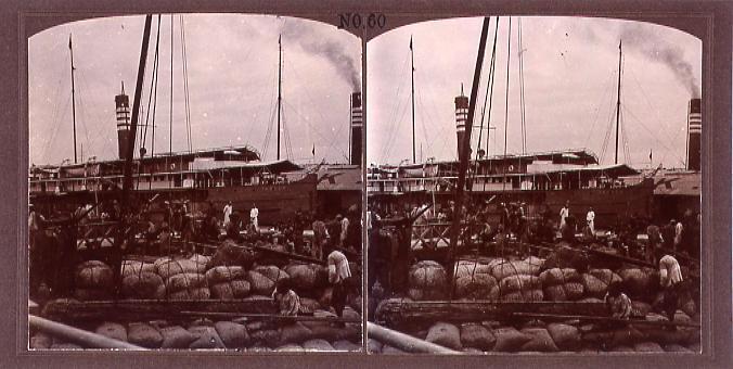 作品画像:漢口の汽船(No.60)