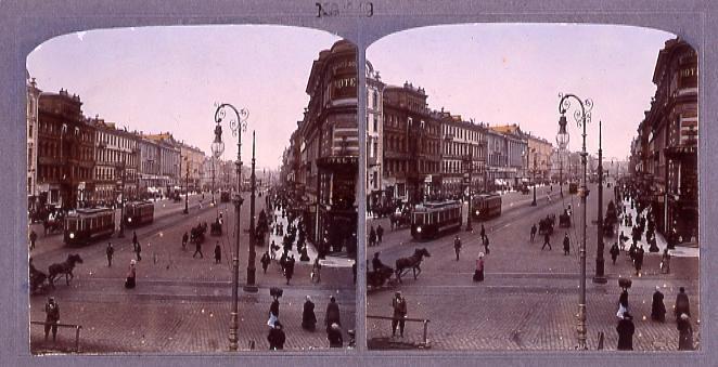 作品画像:ロシアのネフスキー街(二)(No.249)