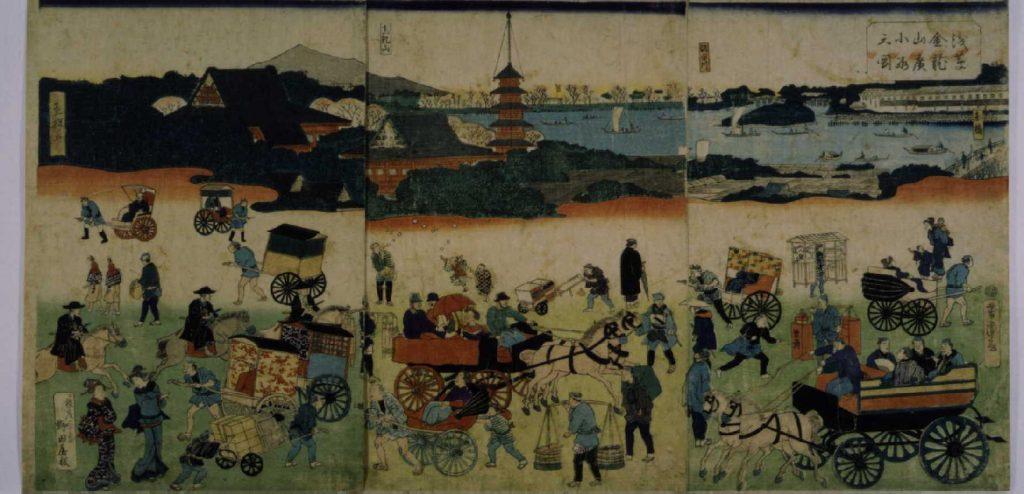 作品画像:浅草金龍山広小路之図