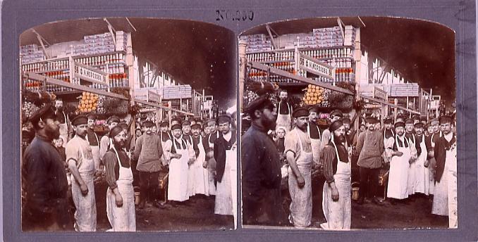 作品画像:ロシアの市場(No.250)