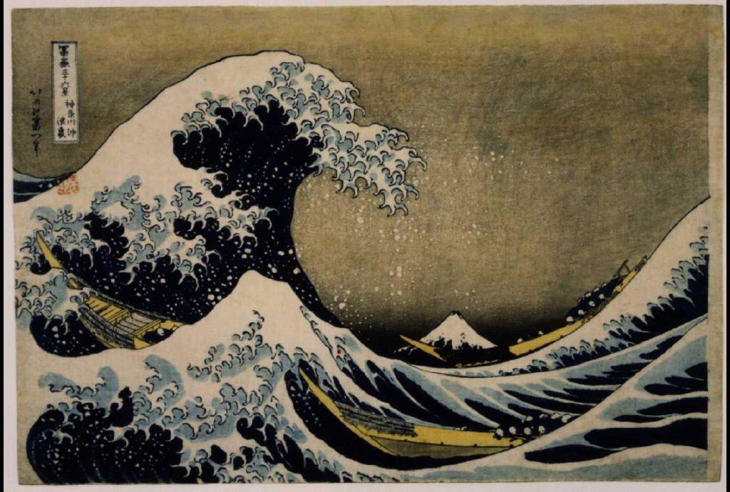 作品画像:冨嶽三十六景 神奈川沖浪裏
