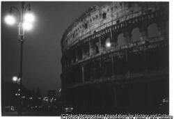 作品画像:ローマ・廃虚の月