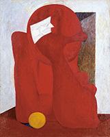 作品画像:包帯をした少年の像