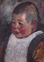 作品画像:子供の顔