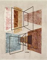 作品画像:回転する面による構成
