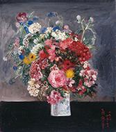 作品画像:花の図