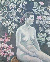 作品画像:白い裸婦