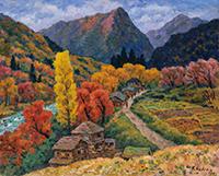 作品画像:奥利根の秋