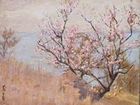 作品画像:島上の春