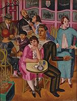 作品画像:水兵のいるカフェ