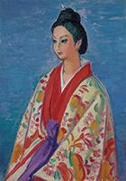 作品画像:琉球の踊り子