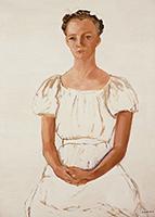 作品画像:白衣の女