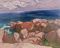 作品画像:海岸風景