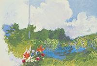 作品画像:高原の窓