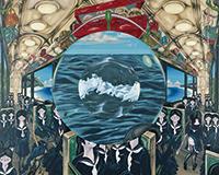 作品画像:円環列車A(望遠鏡列車)