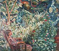 作品画像:庭の少女〈中庭〉