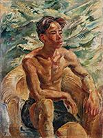 作品画像:男の裸像