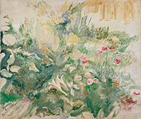 作品画像:庭の花