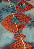 作品画像:イザナギノミコトの国造り