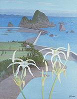 作品画像:海辺の花