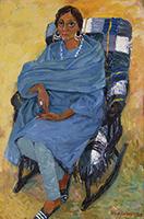 作品画像:インドの女