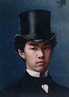 作品画像:白勢和一郎氏肖像