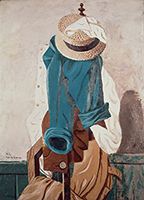 作品画像:麦藁帽子と仕事着(A)