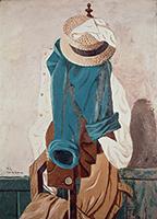 麦藁帽子と仕事着(A)