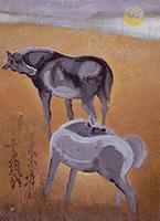 作品画像:馬
