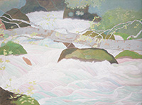 作品画像:奥入瀬の渓流