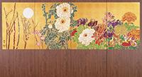 作品画像:四季の花