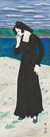 作品画像:浜に立つ女