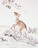 作品画像:仔鹿の秋