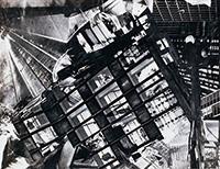 作品画像:不安な都市 フォトモンタージュ