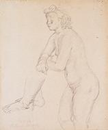 作品画像:裸婦立像