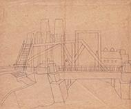 作品画像:Y市の橋 B