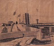 作品画像:鉄橋近く C