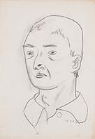 作品画像:男の顔