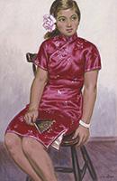 作品画像:支那服の少女