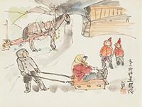 作品画像:冬の北海道風俗