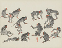 作品画像:群猿