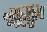 作品画像:ボブ・ホルマンに話しかけるクリストファー・イシャーウッド、1983年3月14日、サンタ・モニカ