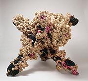 作品画像:X型基本体に於ける増殖性連鎖反応